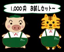 パルシステム・1,000円お試しセット